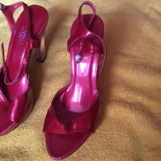 Sandale Dama 38, Culoare: Rosu