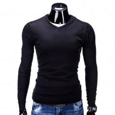 Bluza barbati E74 Negru, Marime: M, XL, XXL, Anchior, Bumbac