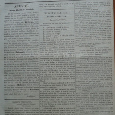 Reforma, ziar politicu, juditiaru si litteraru, an 2, nr. 65, 1860