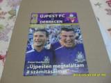 program        Ujpest   -  Debrecen