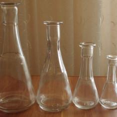 Set toiuri pentru tuica - Arta din Sticla