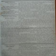 Reforma, ziar politicu, juditiaru si litteraru, an 2, nr. 62, 1860