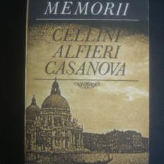 CELLINI ALFIERI CASANOVA - MEMORII