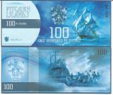!!!  PITCAIRN ISLANDS - LOT 100 + 500 POUNDS 2015 - UNC