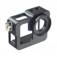 Carcasa / cadru aluminiu cu filet de filtre 37mm pentru GoPro Hero 3 Hero 3+ GP171