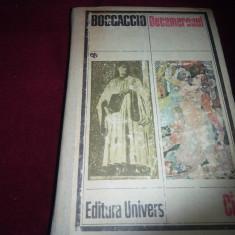 DECAMERONUL - GIOVANNI BOCCACCIO/TD - Roman