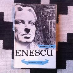 George Enescu George Balan oameni de seama carte arta cultura muzica ilustrata - Carte Arta muzicala