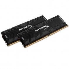 Memorie RAM Kingston, DIMM, DDR4, 32GB, 3000MHz, CL15, Kit 2x16GB, XMP HyperX Predator