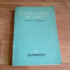 FAMILIA THIBAULT -ROGER MARTIN DU GRAND -VOL 1,2,3,4,5