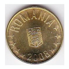 1 ban 2008 din fisic BNR a.UNC/UNC rog cititi descrierea - Moneda Romania