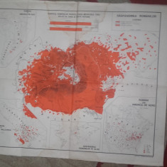 Aromani - HARTA RASPANDIREA ROMANILOR, 1941, romanii din peninsula balcanica, - Harta Romaniei