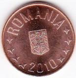 5 bani 2010 din fisic BNR  a.UNC/UNC rog cititi descrierea