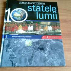 MAREA ENCICLOPEDIE -STATELE LUMII -MONICA PEPINE SI ALTII -VOLUMUL 1, 2, 3, Litera
