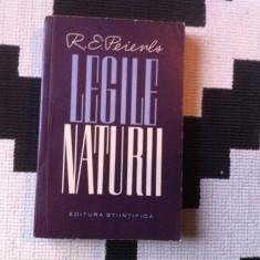 Legile naturii R E Peierls carte stiinta editura stiintifica 1963