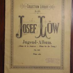 Josef Low - Album for the young (partituri vechi, 12 piese pentru pian)