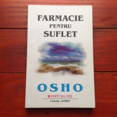 Carte - Farmacie pentru suflet de Osho anul 2003 / 256 pagini !!!