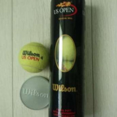 4 Mingi tenis Wilson US OPEN 4 - Minge tenis de camp