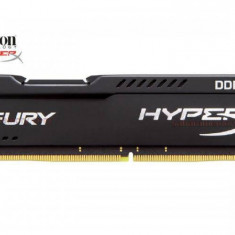 Memorie RAM Kingston, DIMM, DDR4, 8GB, 2400MHz, CL15, HyperX FURY Black, 1.2V