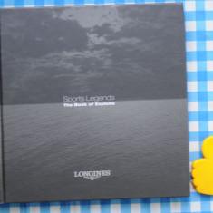 Catalog ceasuri Longines The Book of Exploits
