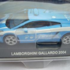 Macheta Lamborghini Gallardo Polizia - 2004 1:43 - Macheta auto