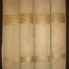 DIMITRIE GUSTI - ENCICLOPEDIA ROMANIEI 4 volume {1938, contin 7 portrete} - Carte de lux