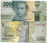 !!!  NOU  :  INDONEZIA  -   2.000   RUPII  2016  -  P  NEW   - UNC