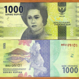 !!! NOU : INDONEZIA - 1.000 RUPII 2016 - P NEW - UNC - bancnota asia