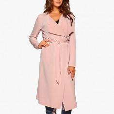 Trench dama Vero Moda Roz Elegant, Marime: XS, S