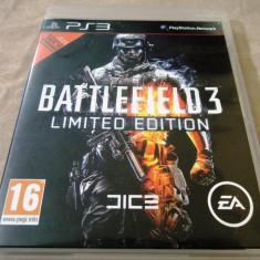 Joc Battlefield 3 Limited Edition, PS3, original, alte sute de jocuri! - Jocuri PS3 Ea Games, Shooting, 18+, Multiplayer