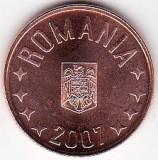 5 bani 2007 din fisic BNR  a.UNC/UNC rog cititi descrierea