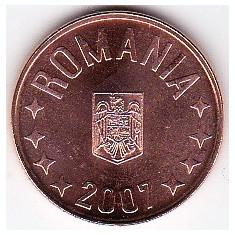5 bani 2007 din fisic BNR a.UNC/UNC rog cititi descrierea - Moneda Romania