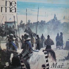 HOPCT REVISTA CINEMA NR 6 -IUN 1970 -SCENA FILMUL MIHAI VITEAZUL-PE COPERTA - Revista culturale