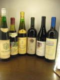 6 sticle vin lot ( O ) recoltare 1973/1978/1980/1996/1999/2004, Sec, Rosu, Europa