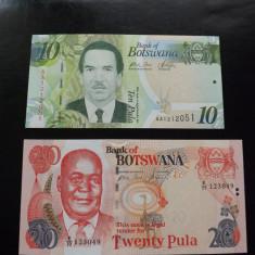 Bancnote necirculate din Botswana. - bancnota africa, An: 1948