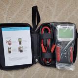MICRO-468 - Tester profesional baterie - service auto produs ORIGINAL ! NOU - Tester diagnoza auto