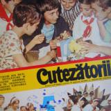 HOPCT REVISTA CUTEZATORII NR 5- IANUARIE 1981 -PIONIERI PE COPERTA - Revista scolara