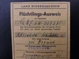 Bilet de avion German.Anii 1950.