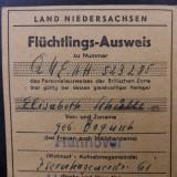 Bilet de avion German.Anii 1950. - Bilet avion