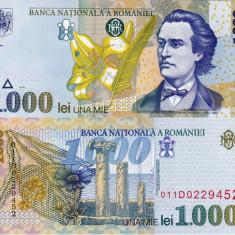 ROMANIA 1.000 lei 1998 - filigran BNR oblic UNC!!! - Bancnota romaneasca