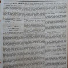 Reforma, ziar politicu, juditiaru si litteraru, an 2, nr. 73, 1860