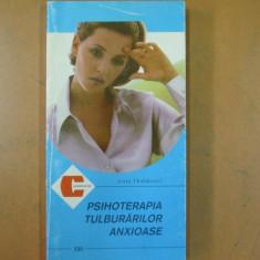 Psihoterapia tulburarilor anxioase I. Holdevici Bucuresti 1998 obsesii fobii - Carte Psihiatrie