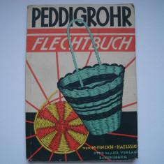 Peddigrohr-Flechtbuch - impletit cosuri de nuiele in lb.germana