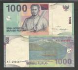 INDONESIA INDONEZIA 1000 1.000  RUPII  RUPIAH 2011 UNC  [1] P-141k , necirculata