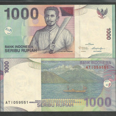 INDONESIA INDONEZIA 1000 1.000 RUPII RUPIAH 2011 UNC [1] P-141k, necirculata - bancnota asia