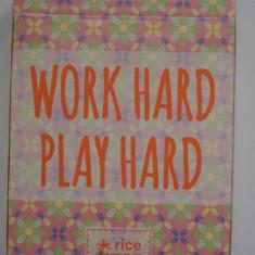 Carti de joc - Work hard - Carti poker