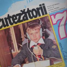 HOPCT REVISTA CUTEZATORII NR 7-FEBRUARIE 1981- PIONIER TELEGRAFIST PE COPERTA ! - Revista scolara