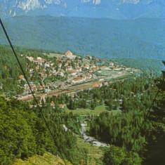Ilustrata circulata 1983 - Predeal - Statiunea Predeal, vedere generala - 2/scan - Carte Postala Transilvania dupa 1918, Fotografie
