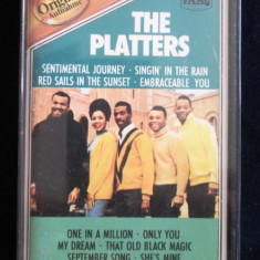 The Platters - The Platters _ caseta audio, compilatie, Germania - Muzica R&B Altele, Casete audio