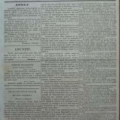 Reforma, ziar politicu, juditiaru si litteraru, an 2, nr. 71, 1860