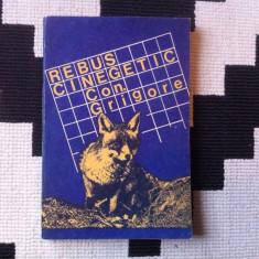 REBUS CINEGETIC CON GRIGORE 1983 HOBBY CARTE EDITURA SPORT TURISM